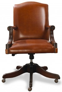 Nieuw en tweedehandse Originele Engelse chesterfield bureaustoelen captain , gainsborough en director chair .jpg